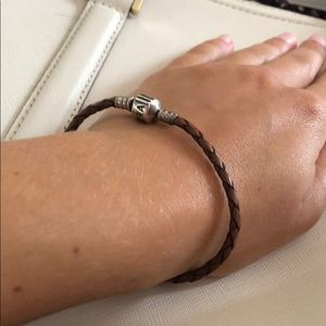 Pandora Jewelry - Pandora leather bracelet